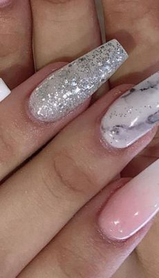 70 Trendy Designs Acrylic Nails To Try Once