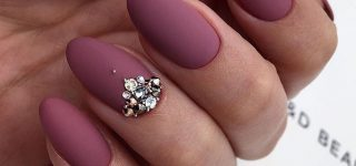 Amazing Matte Acrylic Nails When You Are Tired of the Glossy Ones