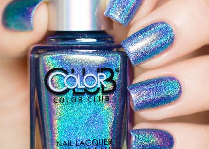 color club Holographic Nail