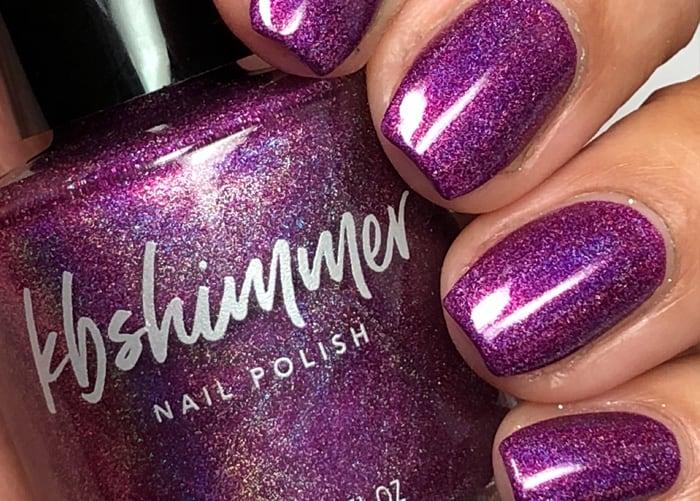 kbshimmer Holographic Nail