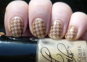 Houndstooth Nail Designs