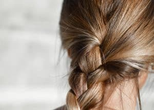 how to get nail polish out of hair