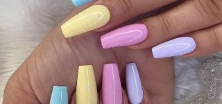 Pastel Shades for a Fresher Nail Design