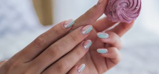 Flaunt Your Round Nails with These Designs