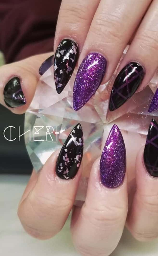 Amazing Pointed Nail Design to Have and Cherish - Glitters on Your Nails