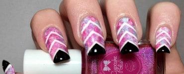 Create New Manicure Design Ideas with the Chevron Nails