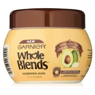 Garnier Whole Blends Hair Mask with Avocado Oil & Shea Butter Extracts