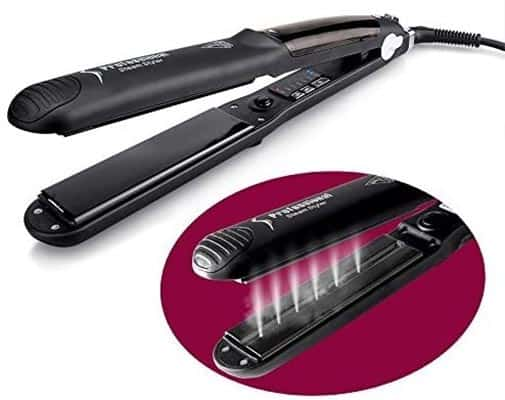 OSIR Professional Titanium Steam Hair Straightener