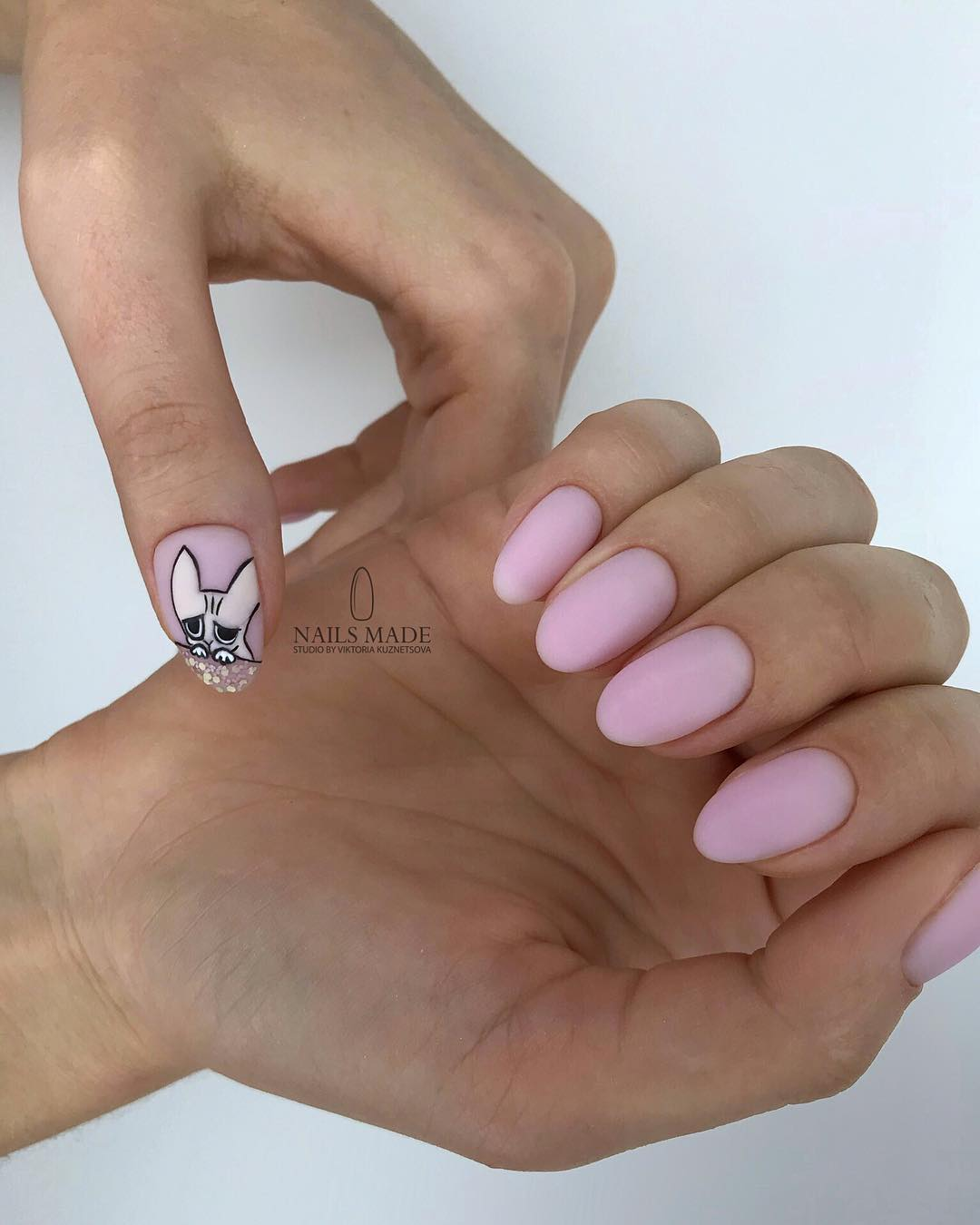 Amazing Matte Acrylic Nails When You Are Tired of the Glossy Ones - Ombre Designs