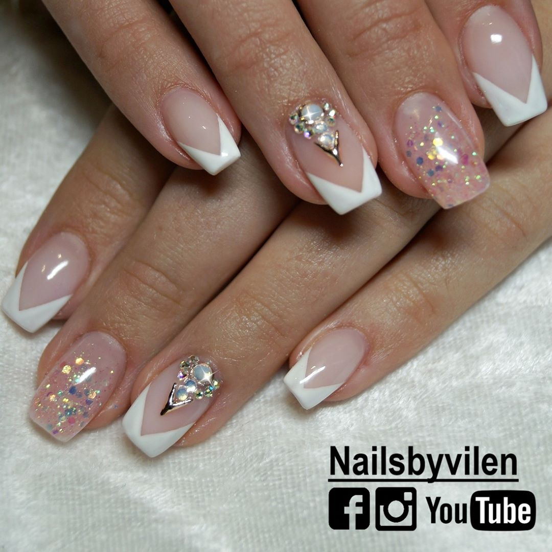 70 Trendy Designs Acrylic Nails To Try Once Polish And Pearls